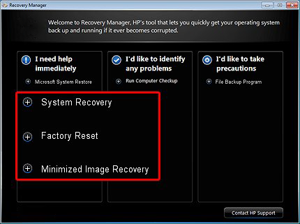hp printer factory reset