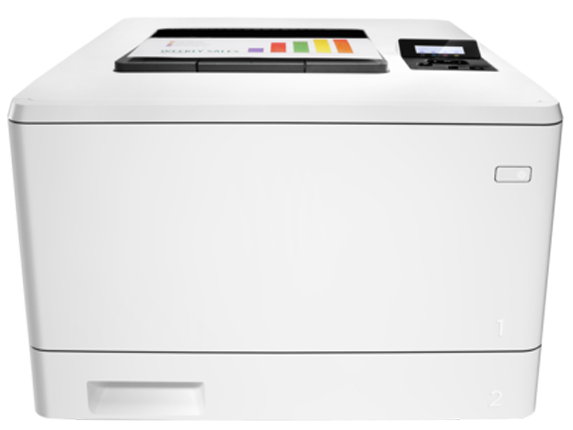 hp color laserjet pro m452dn printer setup