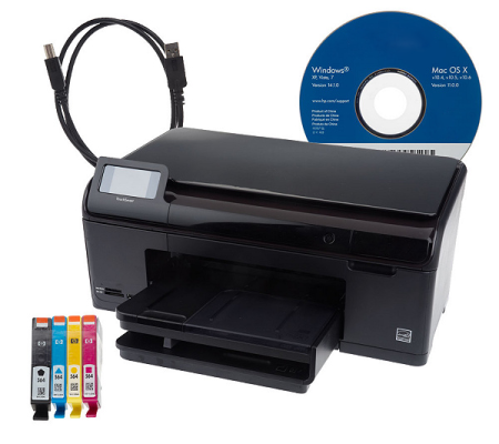 how to setup hp photosmart wireless printer