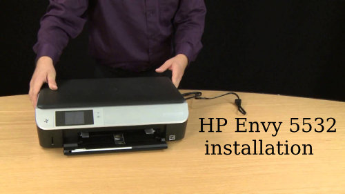 hp envy 5532 installation