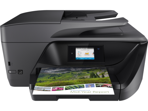 hp printer model setup