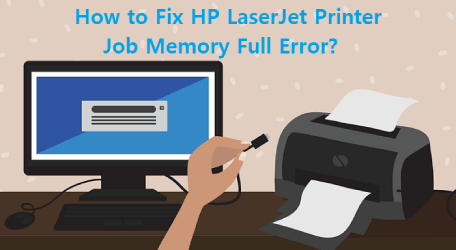 hp printer low memory error