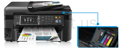 Epson WF 3620 Black Ink Not Printing
