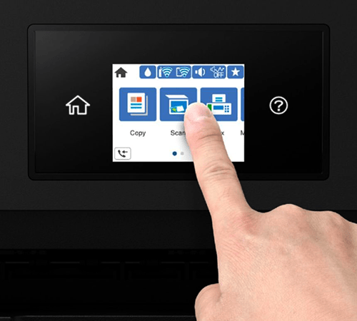 Epson wf 4820 Printer does not turn off