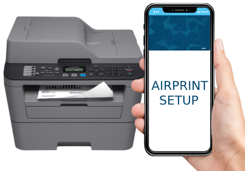 Brother MFC L2685DW Airprint Setup