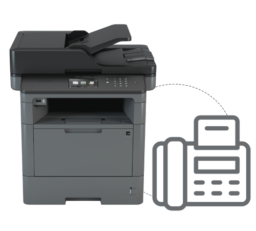 Brother Dcp L5500dn Fax Setup