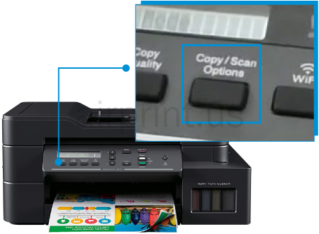 Brother dcp t820dw scan Setup