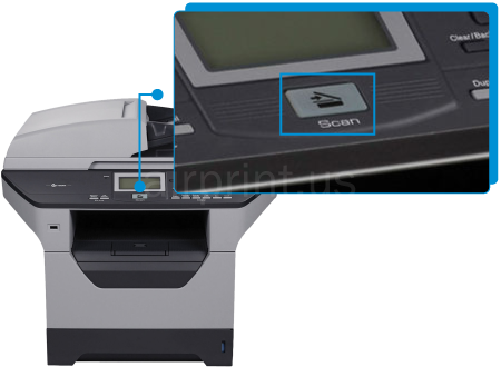 Brother DCP-8085DN Scan Setup